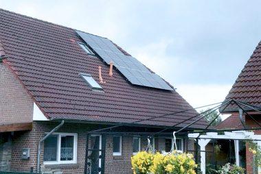 9,8 kWp in Ost-West Ausrichtung in 26683 Saterland (Strücklingen)